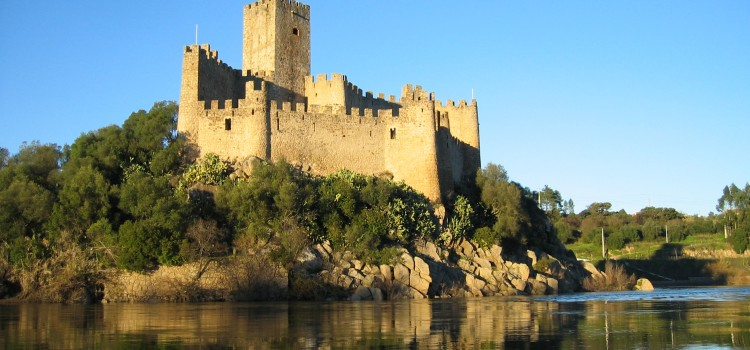 Castle of Almourol, in Vila Nova de Barquinha